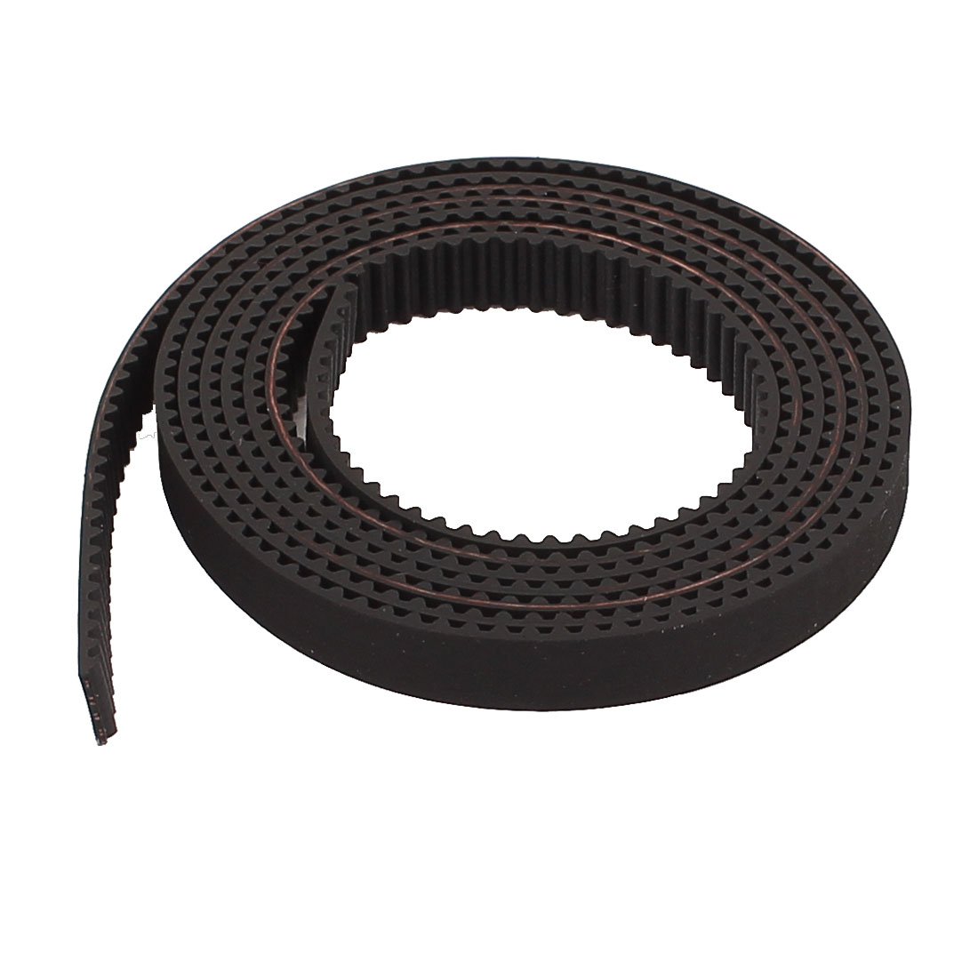 S2M 1M 6mm Wide 2mm Pitch Open Ended Timing Belt Black for 3D Printers