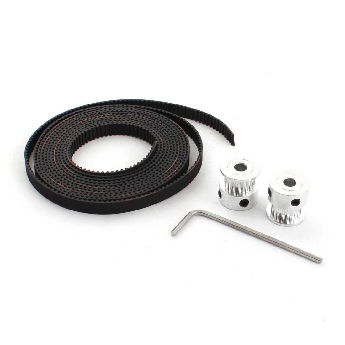 2GT 20T 5mm Bore Timing Pulley 2M Open End Belt Set for RepRap 3D Printer