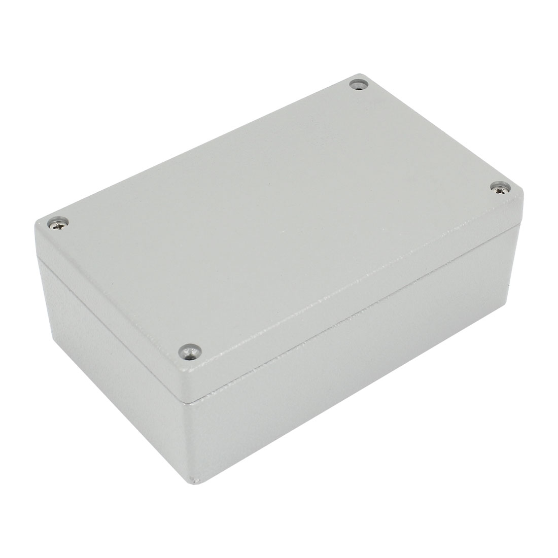 Gray Aluminium Alloy Sealed Electric Junction Enclose Box 160mm x 100mm x 60mm