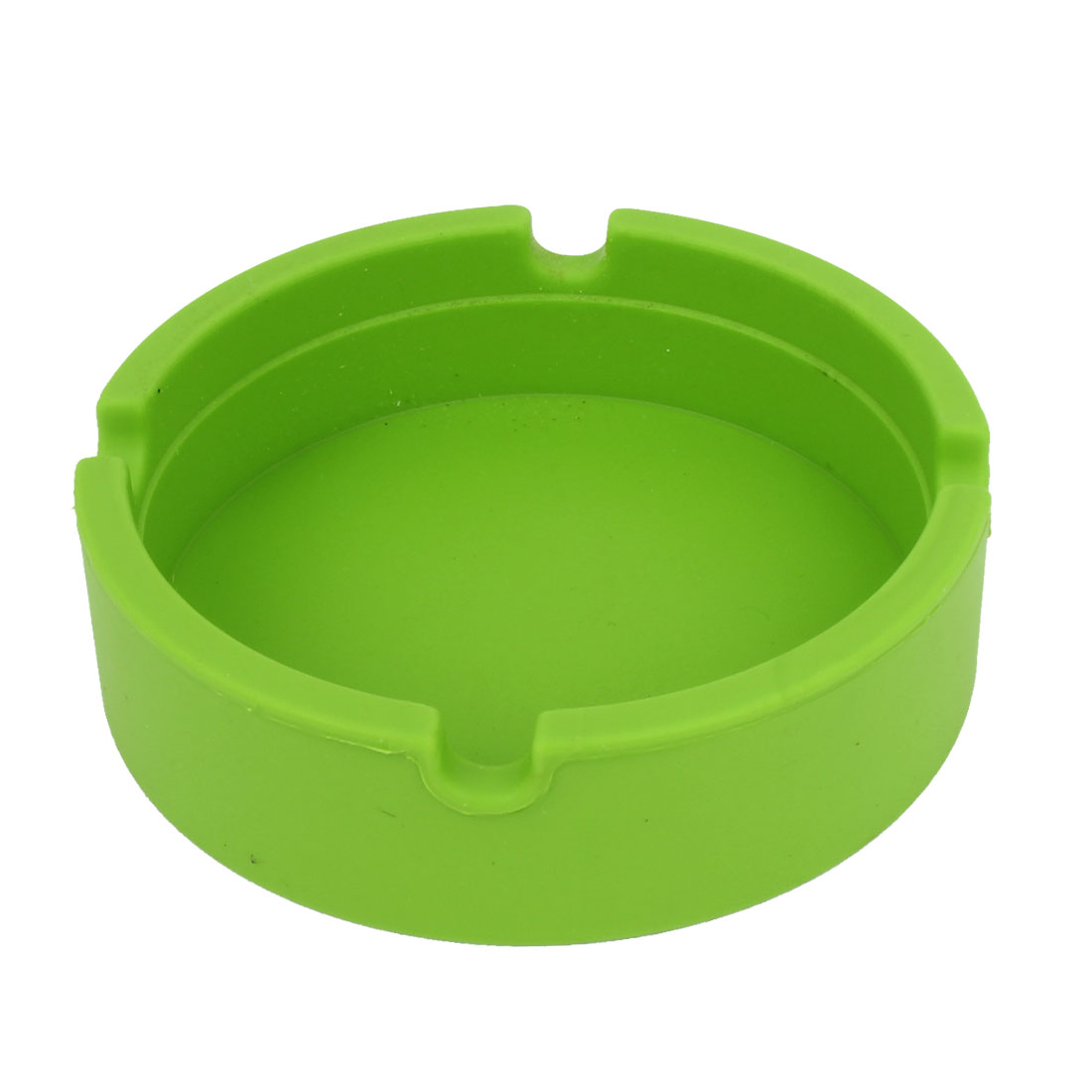 Household Silicone Round Wine Water Bottle Drink Cup Coaster Green