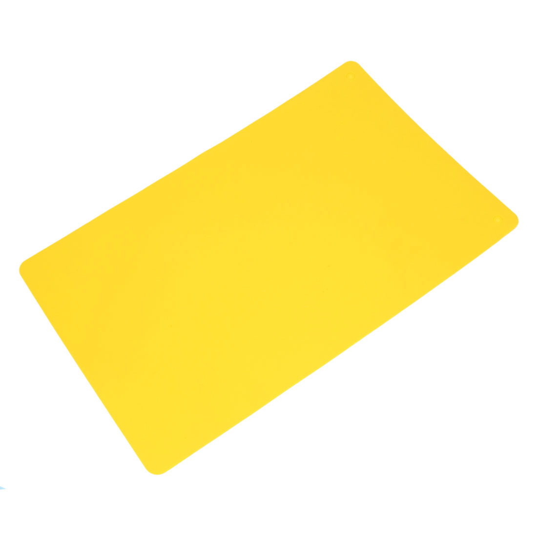 Kitchen Silicone Rectangle Placemats Bowl Pot Place Mats Coasters Yellow