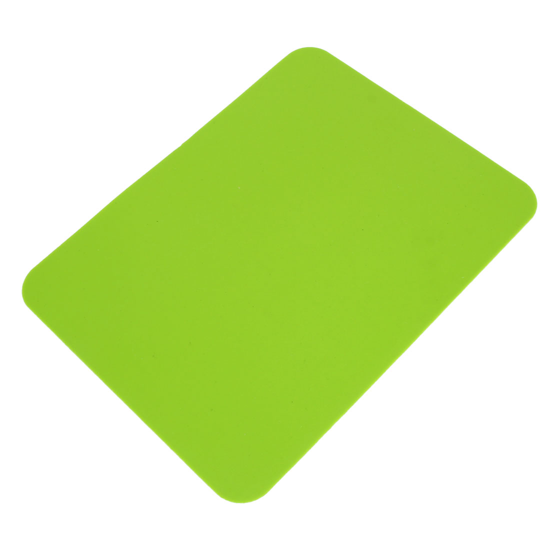 Kitchen Tableware Silicone Rectangle Placemats Table Place Mats Coasters Green