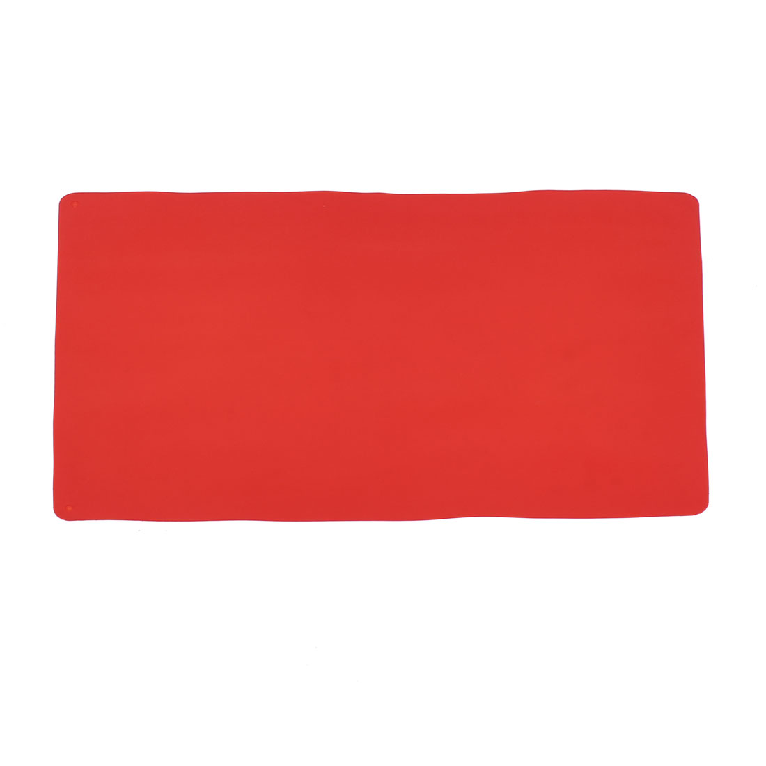 Rectangle Silicone Heat Resistance Cup Pot Bowl Table Mat Pad Coaster Red