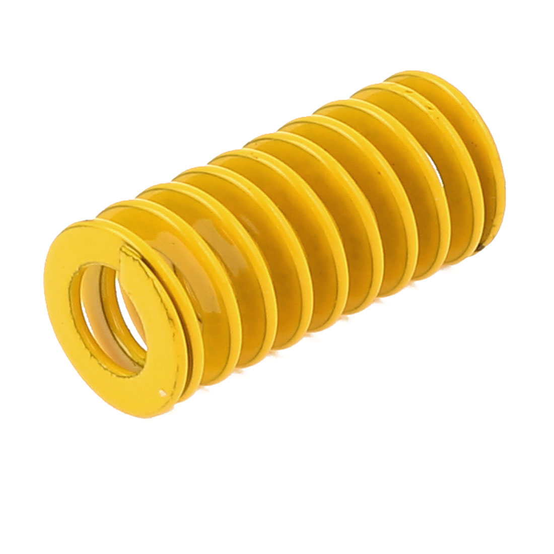12mm x 6mm x 25mm Cylinder Section Mold Mould Die Spring Yellow