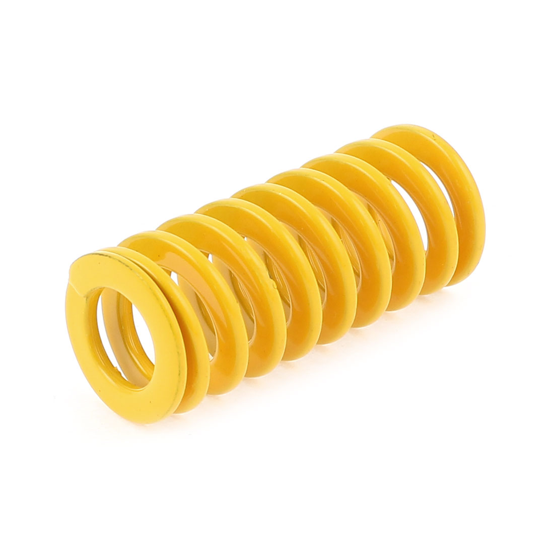 20x10x45mm Yellow Chromium Alloy Steel Mould Coil Compression Spring