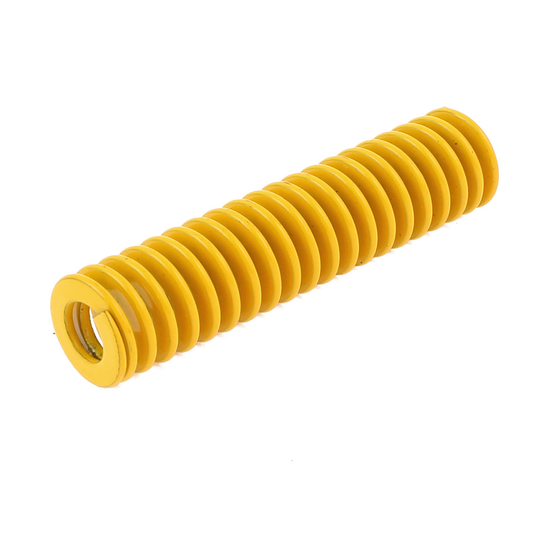 Yellow 14mm x 7mm x 60mm Rectangular Section Mold Mould Die Spring