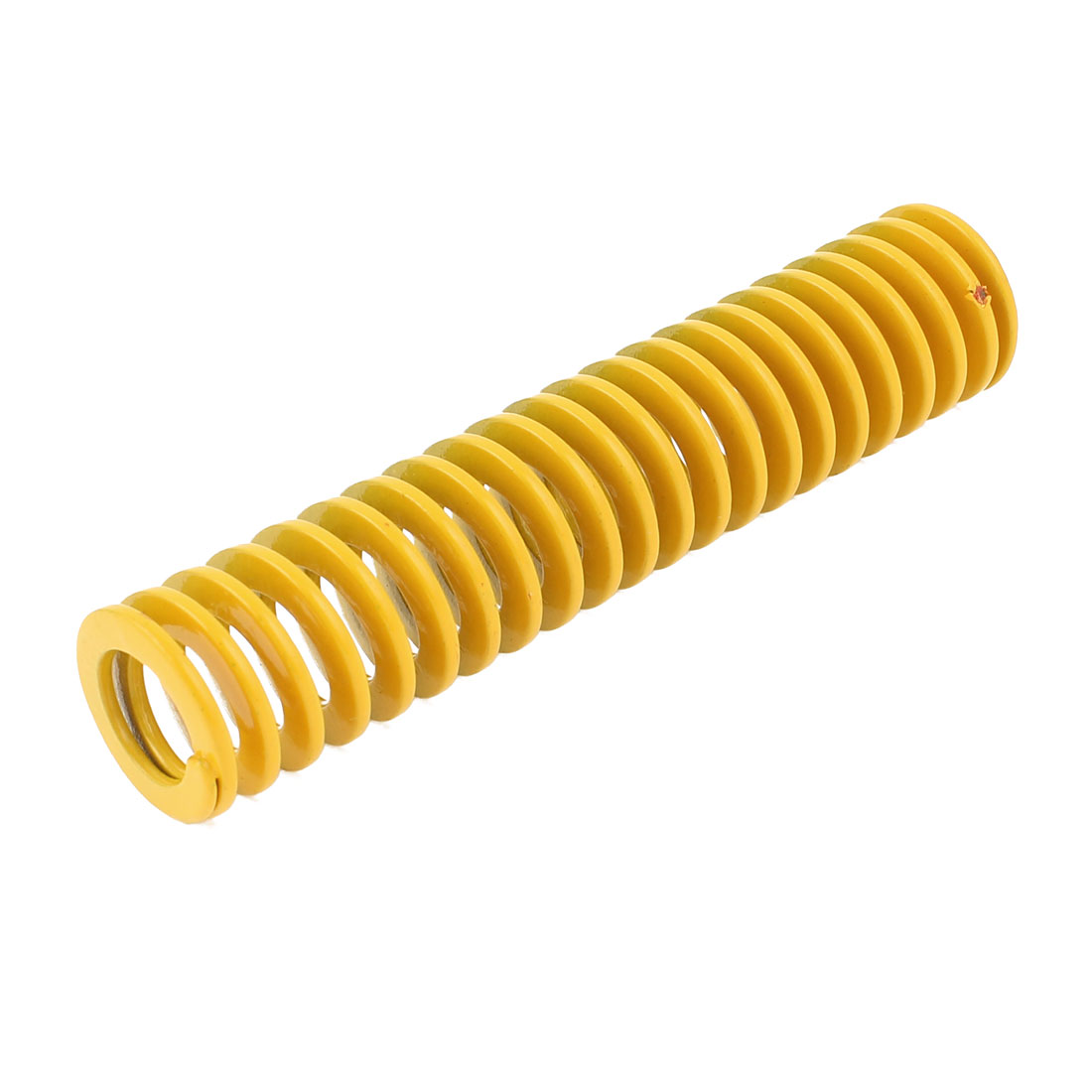 22mm x 11mm x 100mm Yellow Chromium Alloy Steel Compression Die Spring