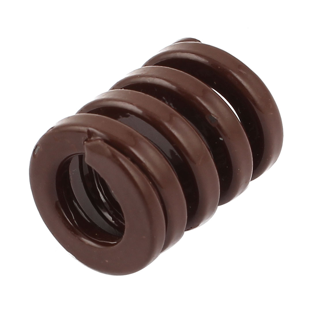 20x10x25mm Chromium Alloy Steel Compression Die Spring Coffee Color