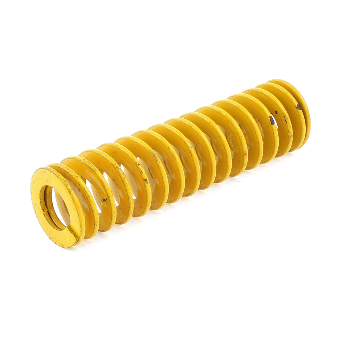 22mm x 11mm x 80mm Yellow Chromium Alloy Steel Compression Die Spring