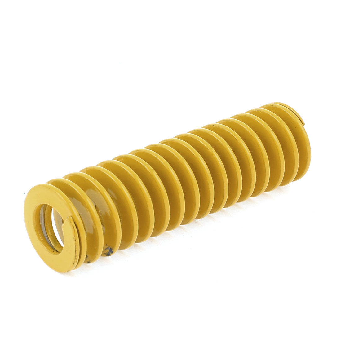22x12x75mm Spiral Chromium Alloy Steel Stamping Compression Die Spring Yellow