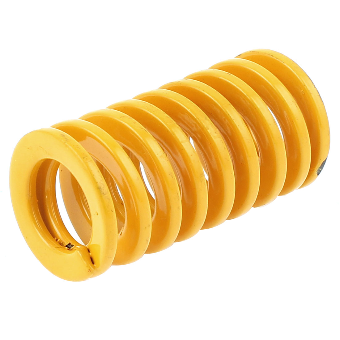 Yellow 22x11x40mm Chromium Alloy Steel Tubular Section Mould Die Spring