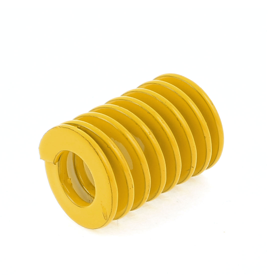 18mmx9mm Dia 25mm Long Chromium Alloy Steel Mould Die Spring Yellow