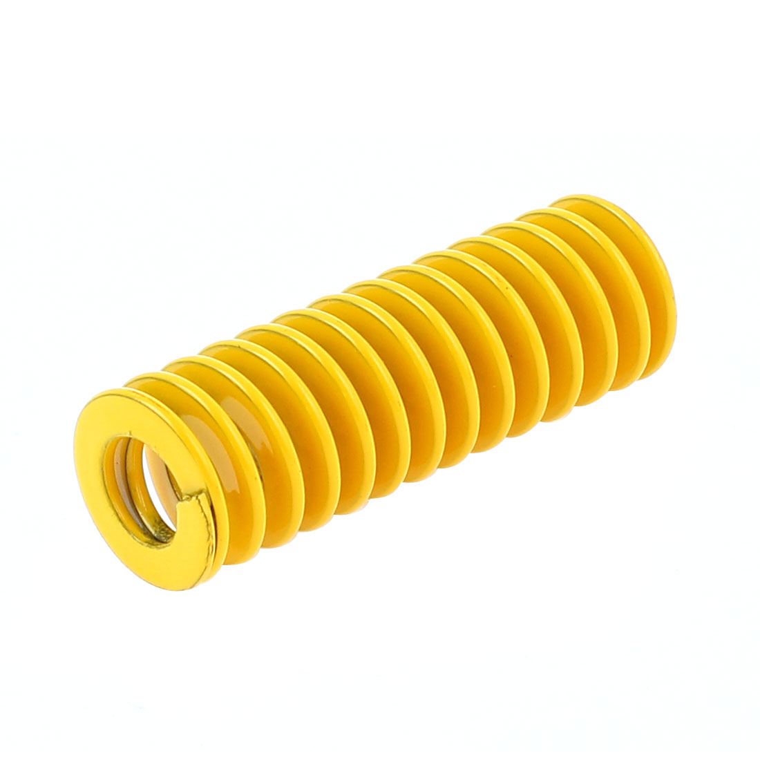 Yellow 14x7x40mm Chromium Alloy Steel Tubular Section Mould Die Spring