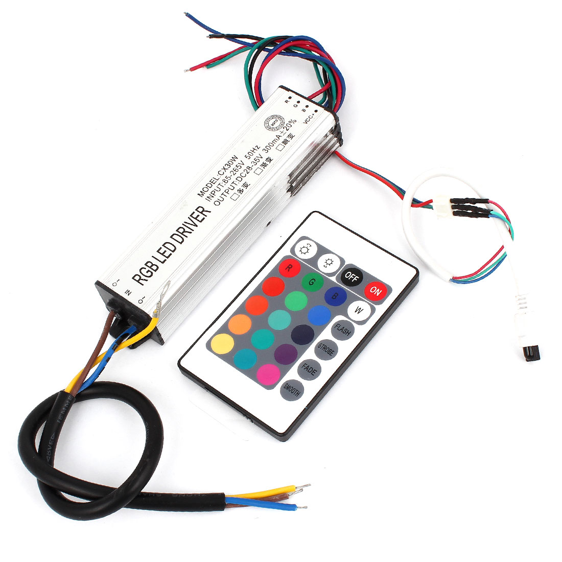 DC 85-265V 30W Output Constant Current Waterproof LED Driver w Remote