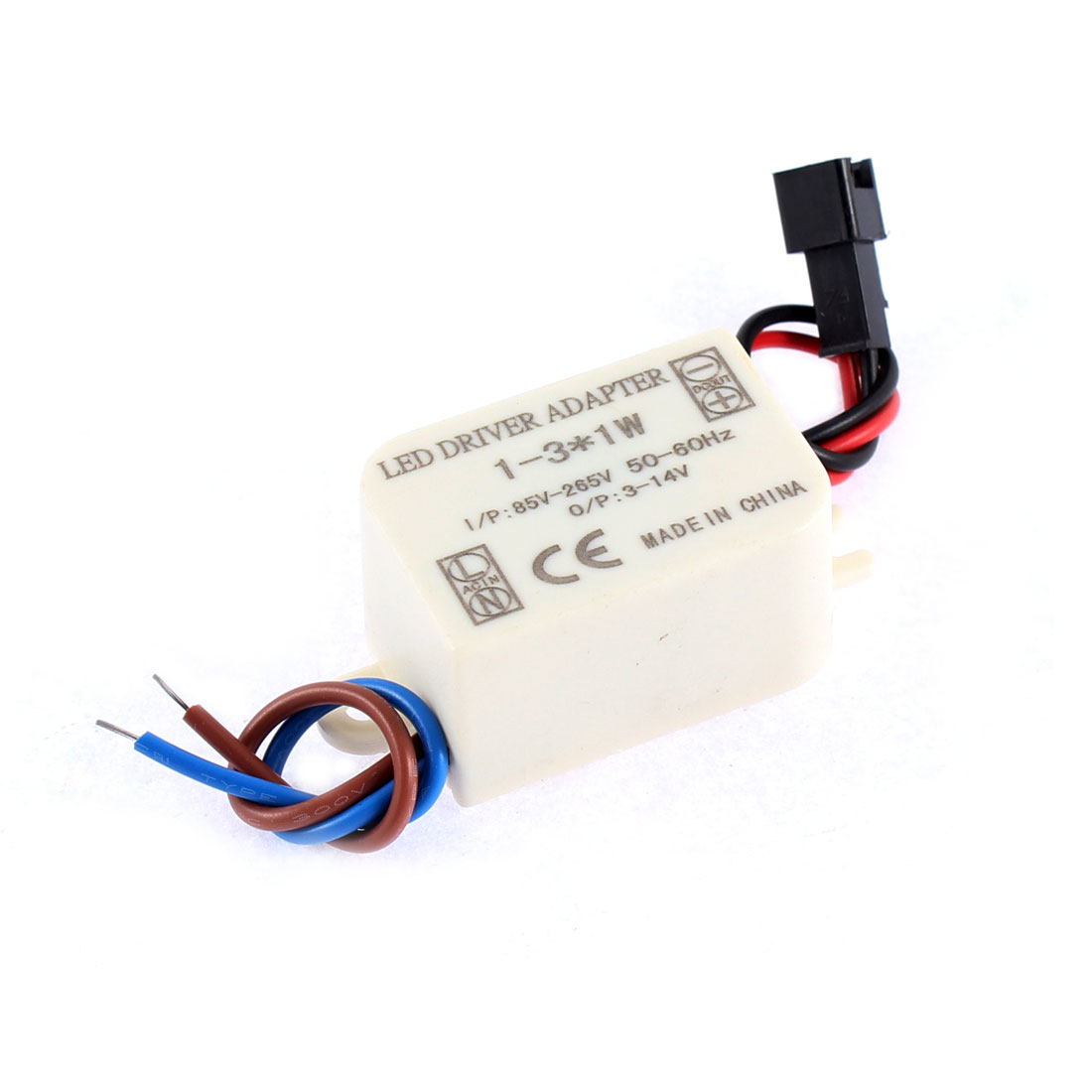 AC 85-265V DC 3-14V Waterproof 3x1W LED Driver Power Supply Converter