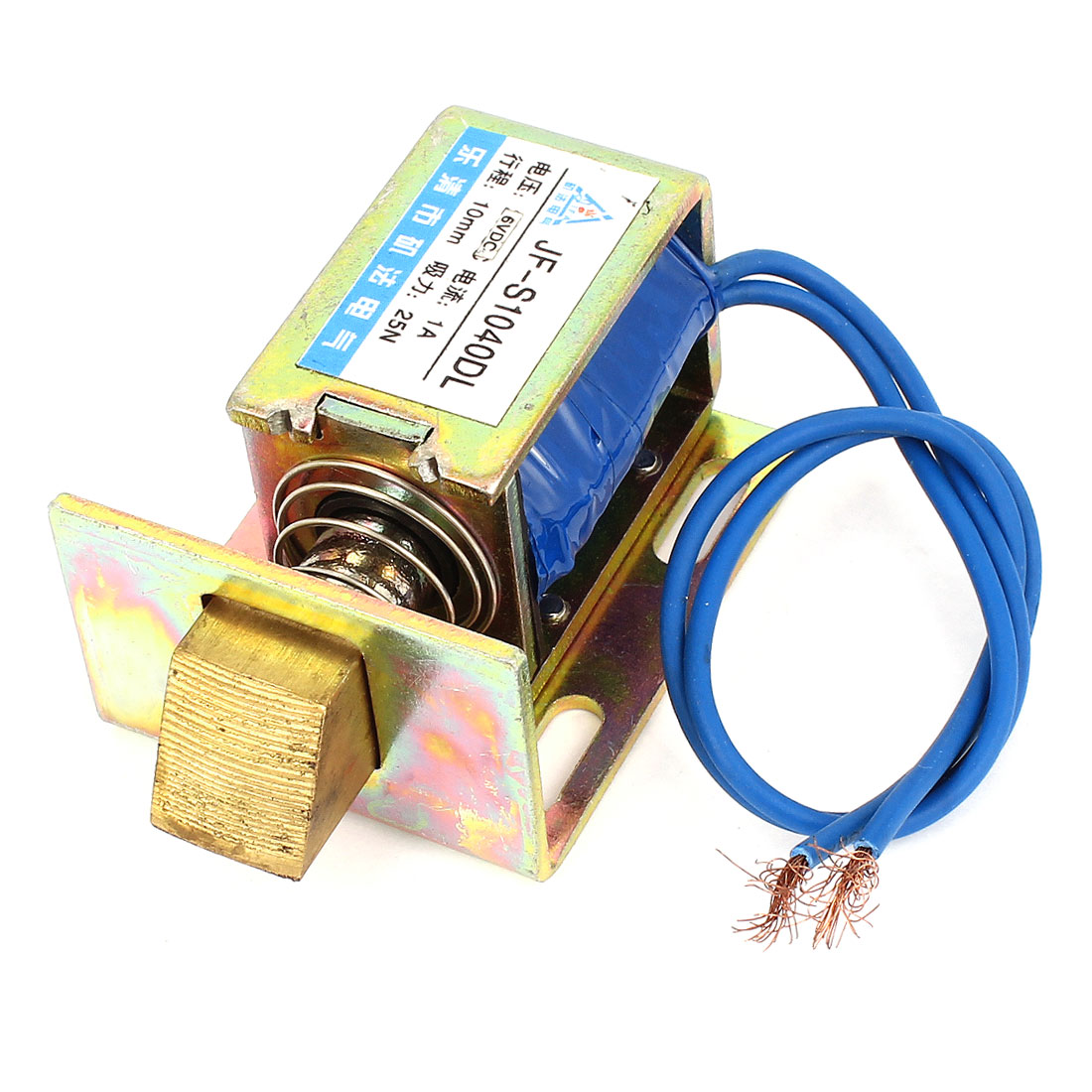 DC 6V 1A 10mm 25N Open Frame Type Solenoid for Electric Door Lock