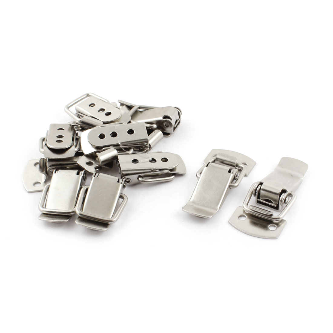 10pcs Home Cabinet Case Boxes Security Alloy Toggle Latch Catch 1.2""