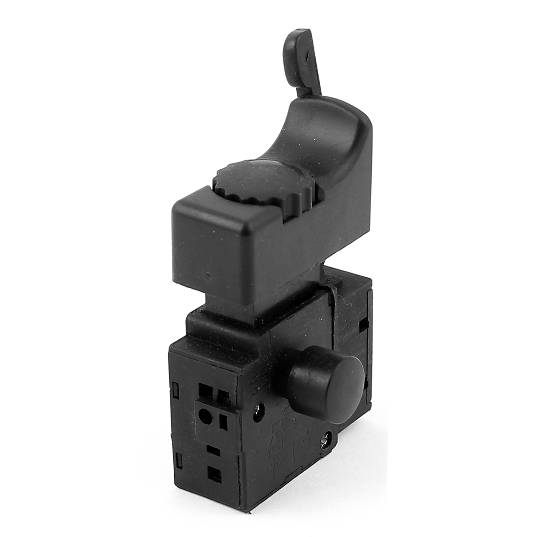 FA2-6/1BEK SPDT Lock on Power Tool Trigger Button Switch Black AC250V 6A