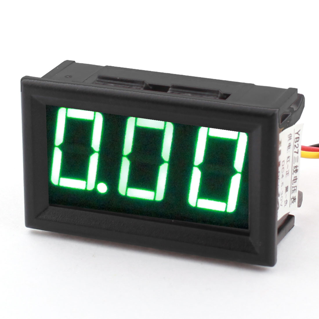 Digital DC 4.5-30V LED Display Green Digit Voltage Tester Gauge Panel Voltmeter