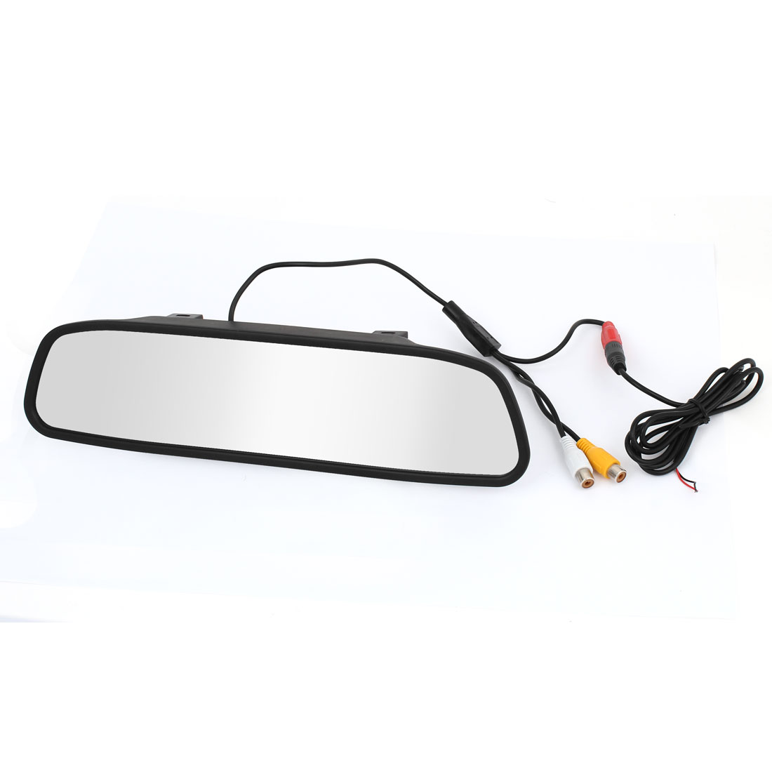 "4.3"" Screen 2 x AV Input TFT Car LCD Rear View Rearview DVD Mirror Monitor"