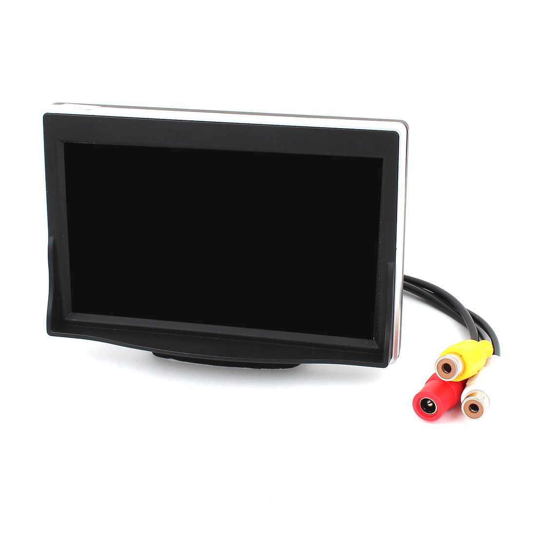 "5"" Widescreen 2 RCA Female 1 Male Socket DVD AV Video LCD Monitor for Car"