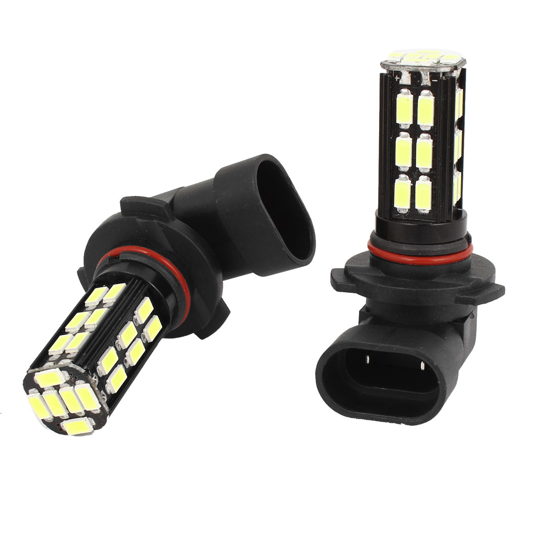 2 Pcs 9005 5730 SMD 30 LED Car Daytime Running Lamp Fog Light Driving Bulb White