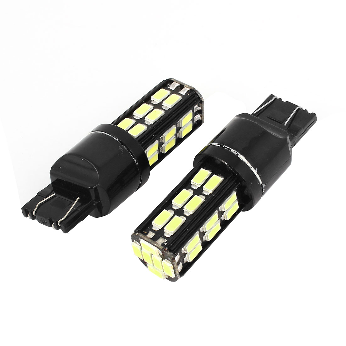 2 Pcs White 7443 30 5630 SMD LED Auto Marker Light Signal Lamp Turning Bulb 12V
