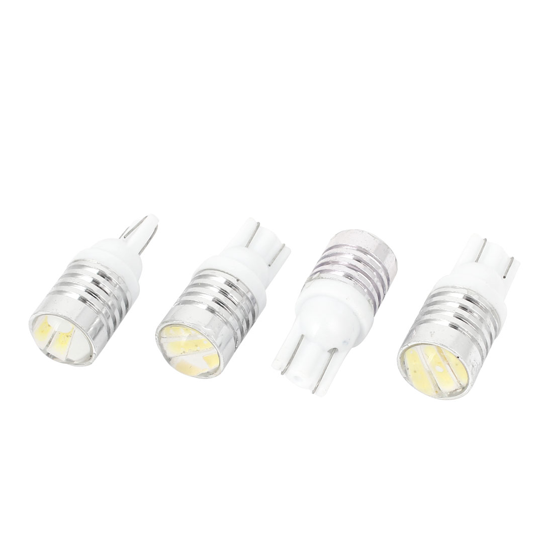4 Pcs T20 7440 White 720 3 SMD LED Lens Auto Turning Signal Backup Reverse Tail Light Bulb Lamp
