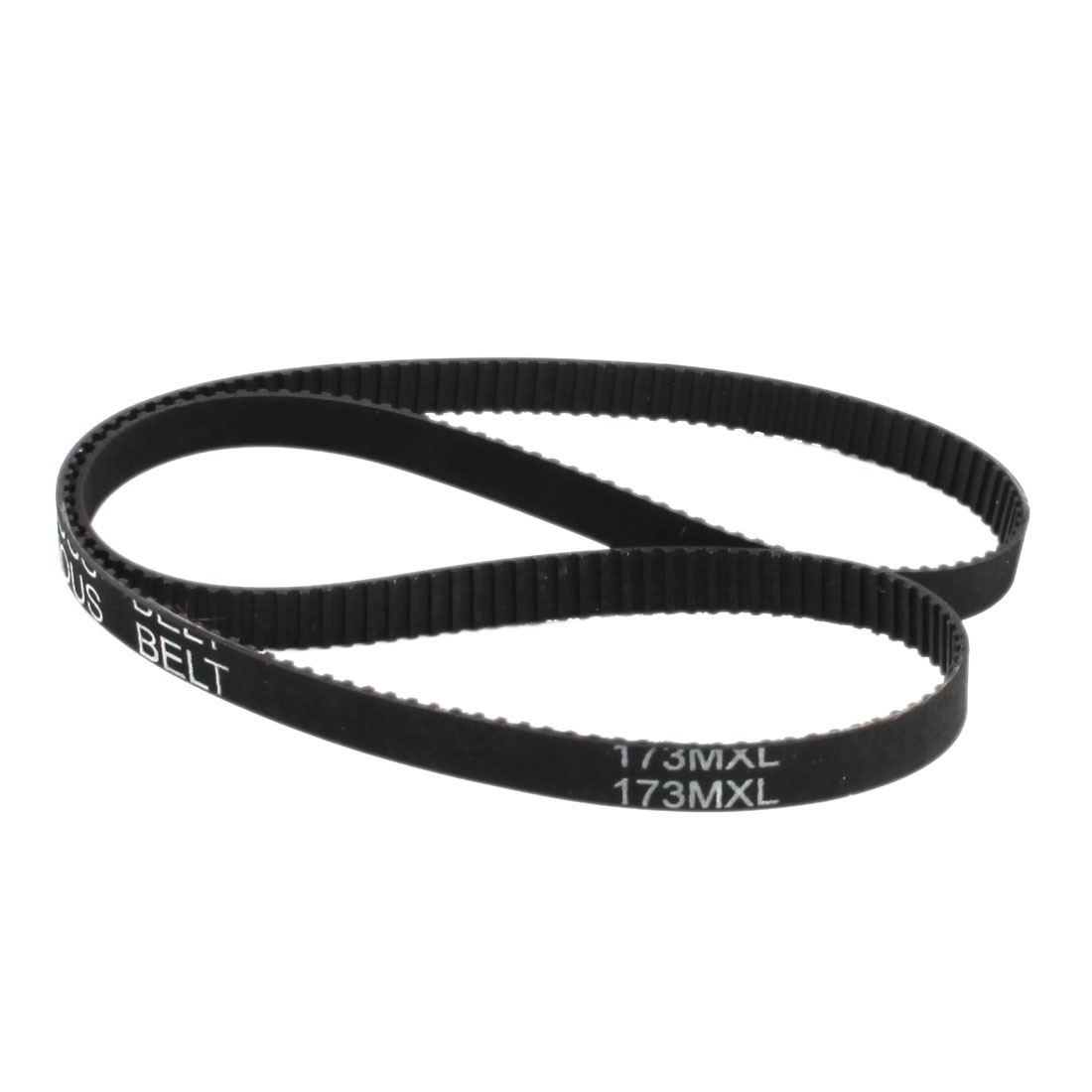 173MXL025 216-Tooth 2.032mm Pitch 6.4mm Width Black Industrial Stepper Motor Groove Synchronous Timing Belt 17.3""