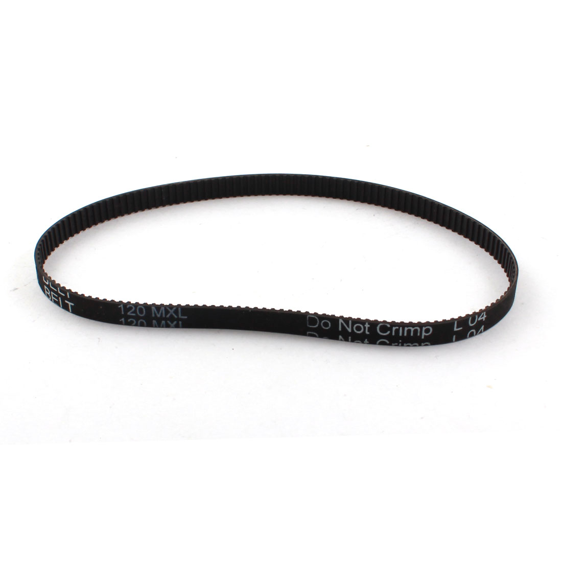 "120MXL025 150 Teeth 2.032mm Pitch 1/4"" Width Stepper Motor 3D Printer Black Groove Synchronous Timing Belt 12"""