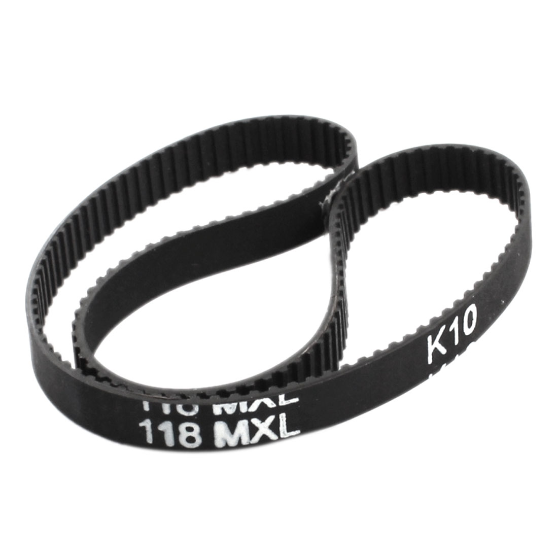 "118MXL025 148-Teeth 1/4"" Wide 2.032mm Pitch Single Side Groove Industrial CNC Machine Synchronous Timing Belt 11.8"""