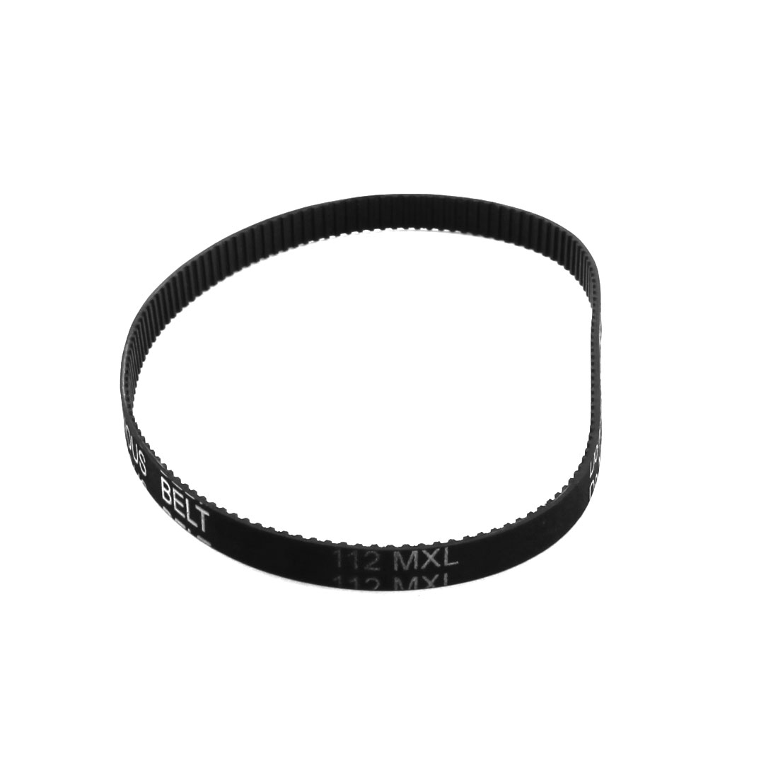 112MXL025 140-Teeth 6.4mm Wide 2.032mm Pitch Black Industrial 3D Printer Groove Synchronous Timing Belt 11.2""