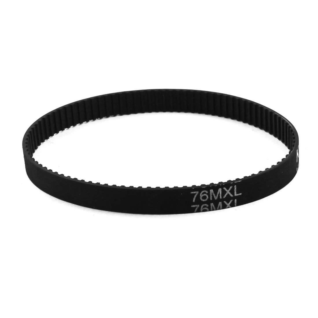 76MXL025 95-Tooth 6.4mm Width Black Stepper Motor 3D Printer Groove Synchronous Timing Belt 7.6""