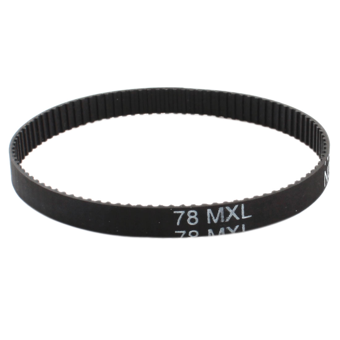 "78MXL025 98 Teeth 2.032mm Pitch 1/4"" Width Stepper Motor 3D Printer Black Groove Industrial Synchronous Timing Belt 199.14mm Girth"