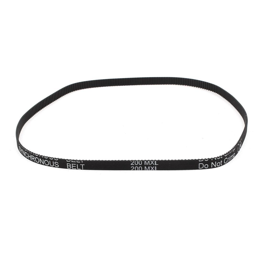 200MXL 025 6.4mm Belt Width 250 Teeth 508mm Engine Rubber Timing Belt