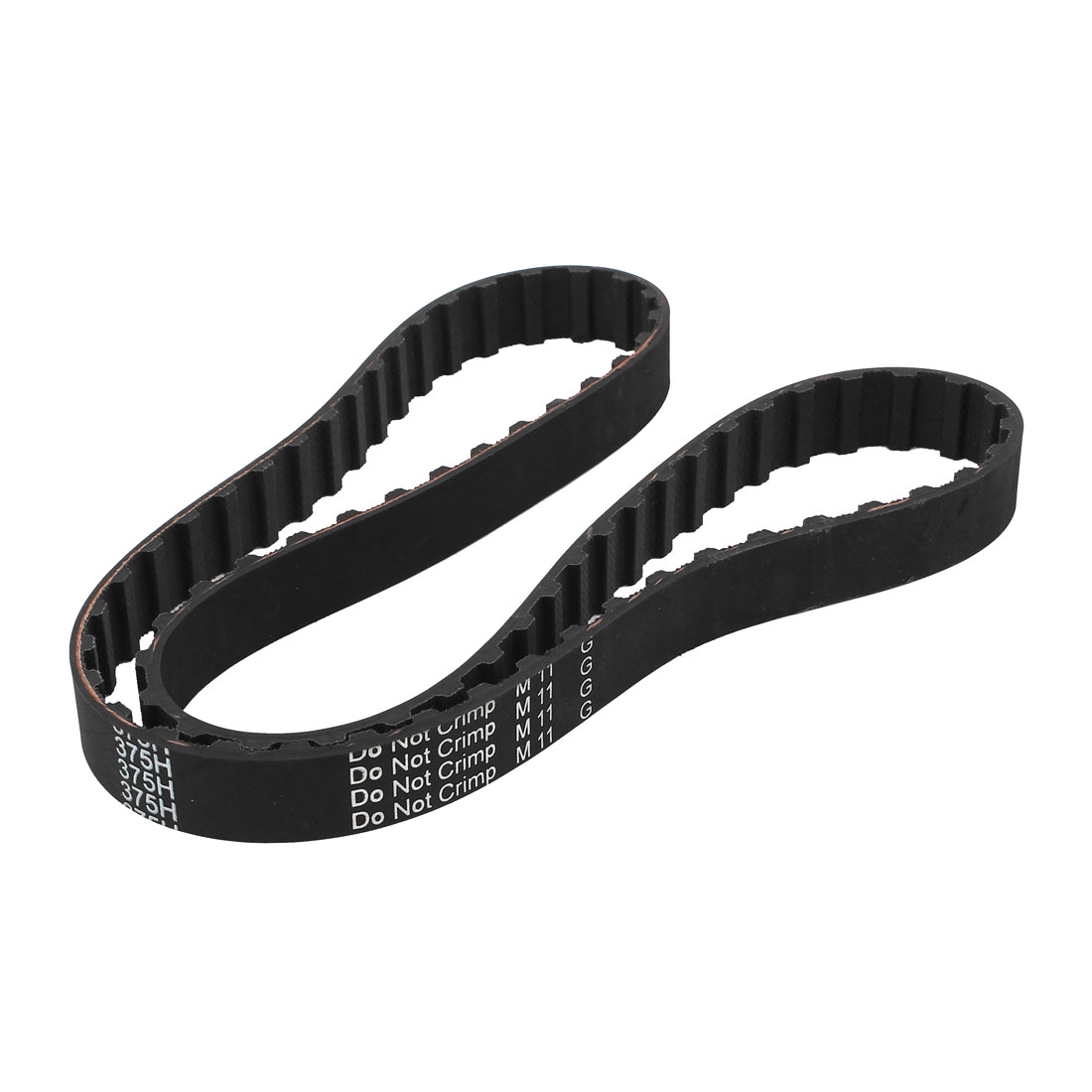 375H 075 19.1mm Width 12.7mm Pitch 75 Teeth CNC Timing Belt for Stepper Motor