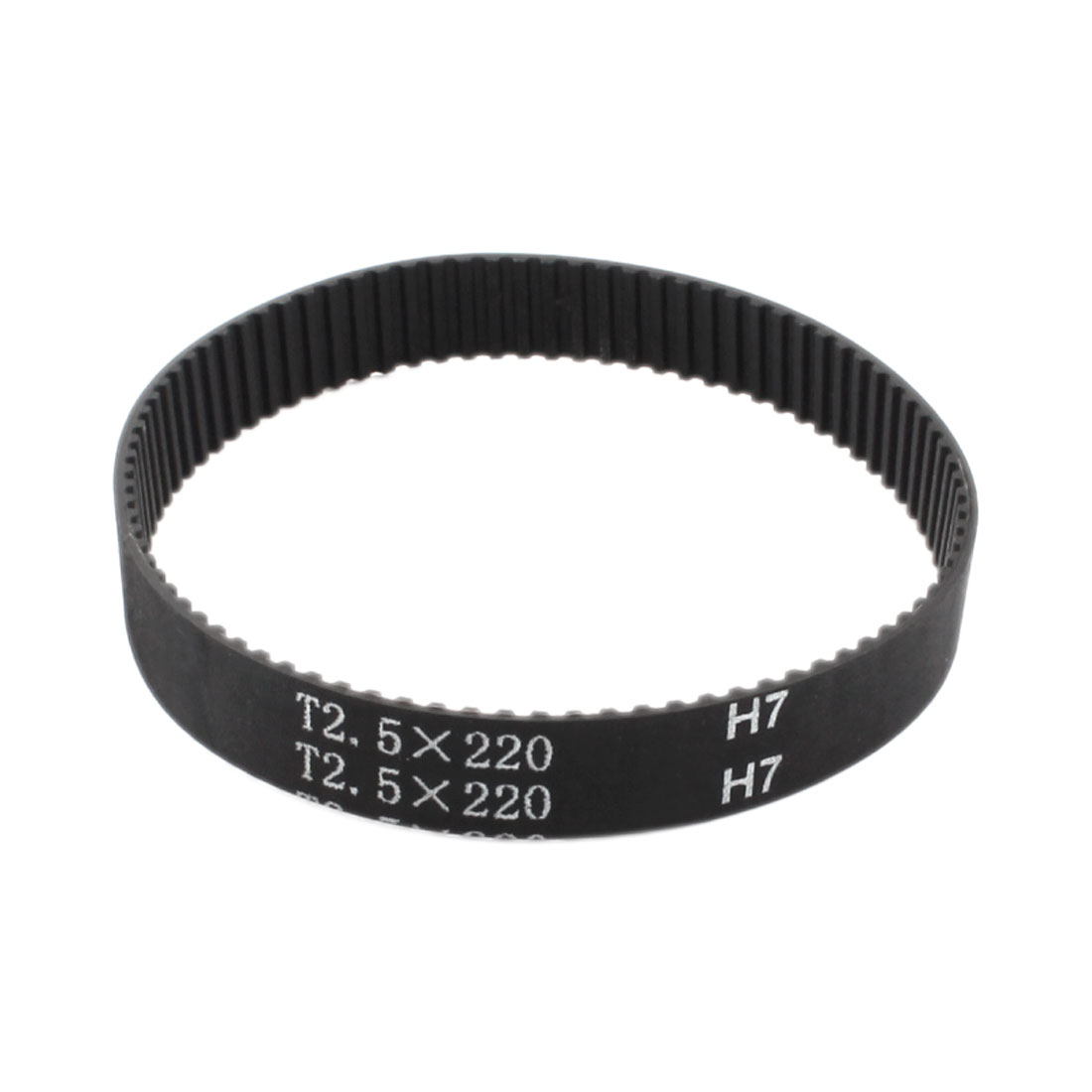 T2.5x220 88-Tooth 2.5mm Pitch 10mm Width Industrial Stepper Motor 3D Printer Groove Synchronous Timing Belt 220mm Girth