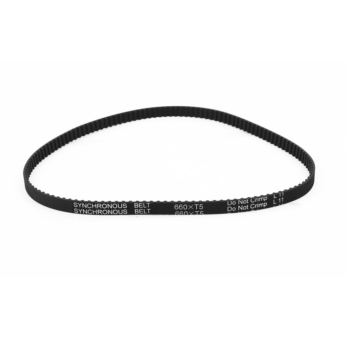 Table Saw Rubber Timing Belt 132 Teeth 10mm Width 5mm Pitch T5x660