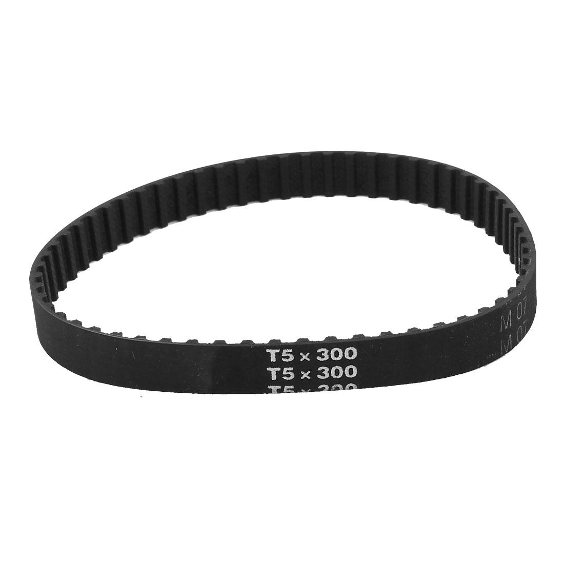 T5x300 60 Teeth 5mm Pitch 10mm Wide 300mm Girth Industrial Timing Belt