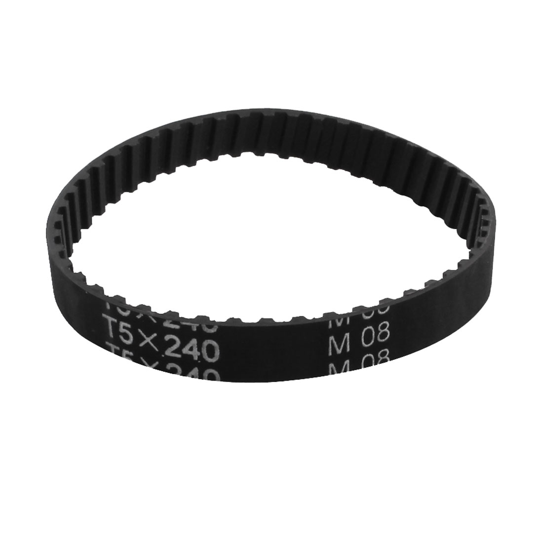 T5 x 240 48 Teeth 10mm Width Black 3D Printer Industrial Groove Synchronous Timing Belt 240mm Girth
