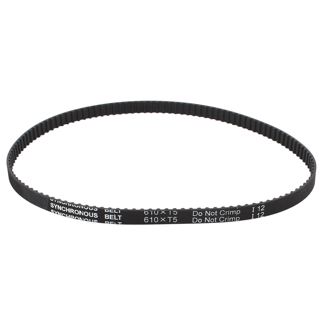 T5x610 10mm Width 5mm Pitch 122 Teeth CNC Timing Belt for Stepper Motor
