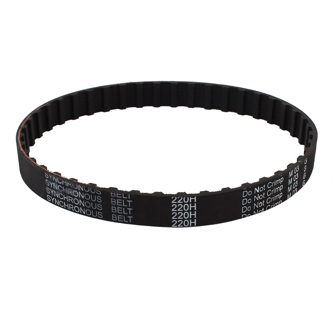 200H 075 40 Teeth 12.7mm Pitch 19.1mm Width Industrial Timing Belt Black
