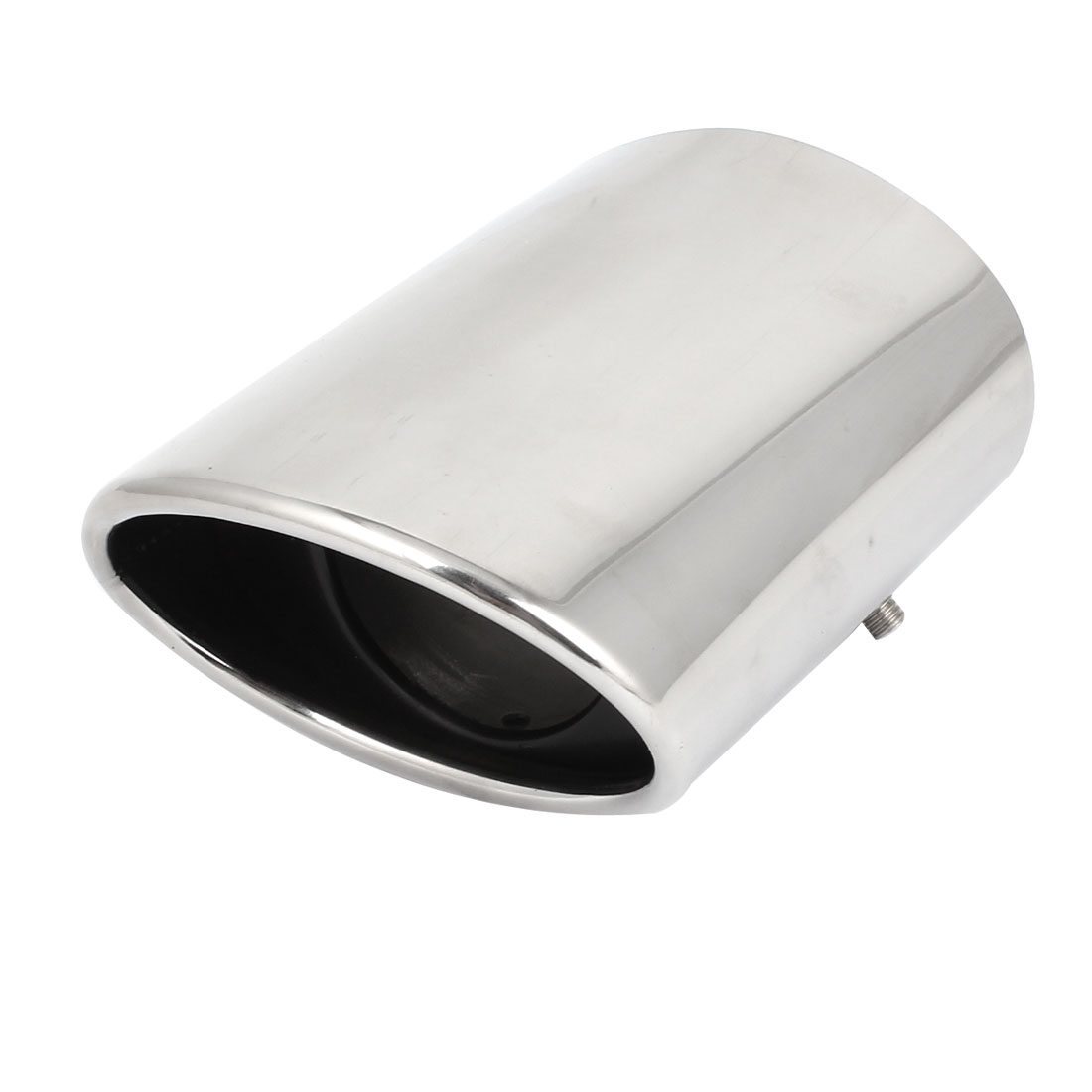 14cm Long Stainless Steel Exhaust Muffler Pipe Silver Tone for Honda Civic