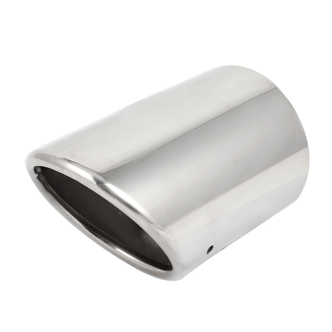 "4"" Inlet Dia Right Stainless Steel Exhaust Muffler Tip Silver Tone for Malibu"