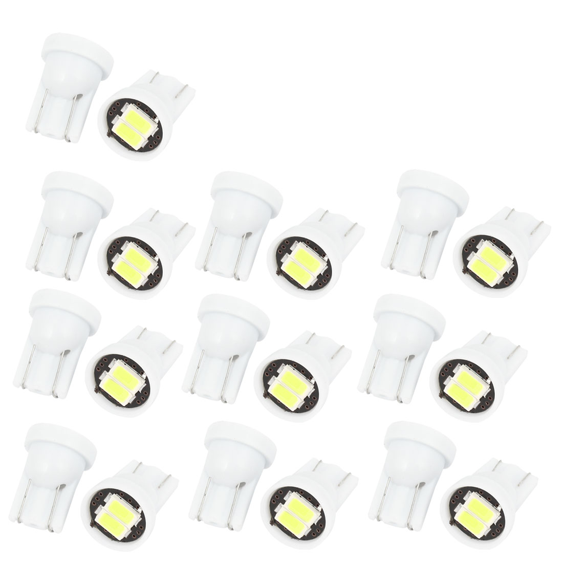 20 Pcs Car T10 W5W 2 5630 SMD LED Signal Bulb Light Turning Lamp DC 12V