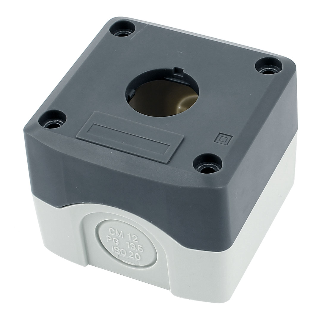 68mm x 68mm x 50mm Waterproof Plastic Sealed Electrical Junction Box