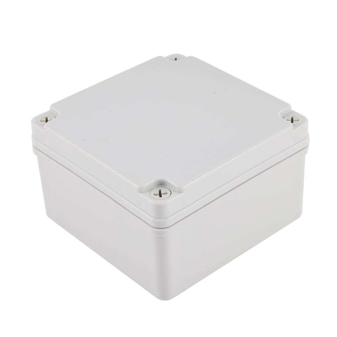 125mm x 125mm x 75mm Waterproof Plastic Sealed Electrical Junction Box Enclosure