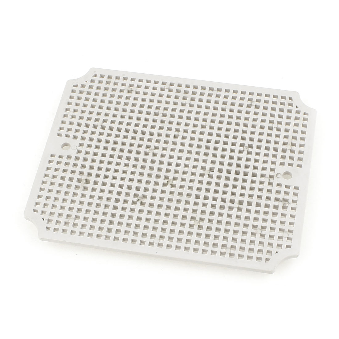 Gray Plastic Mesh Enclosure Mounting Plate for 140 x 170mm Junction Box