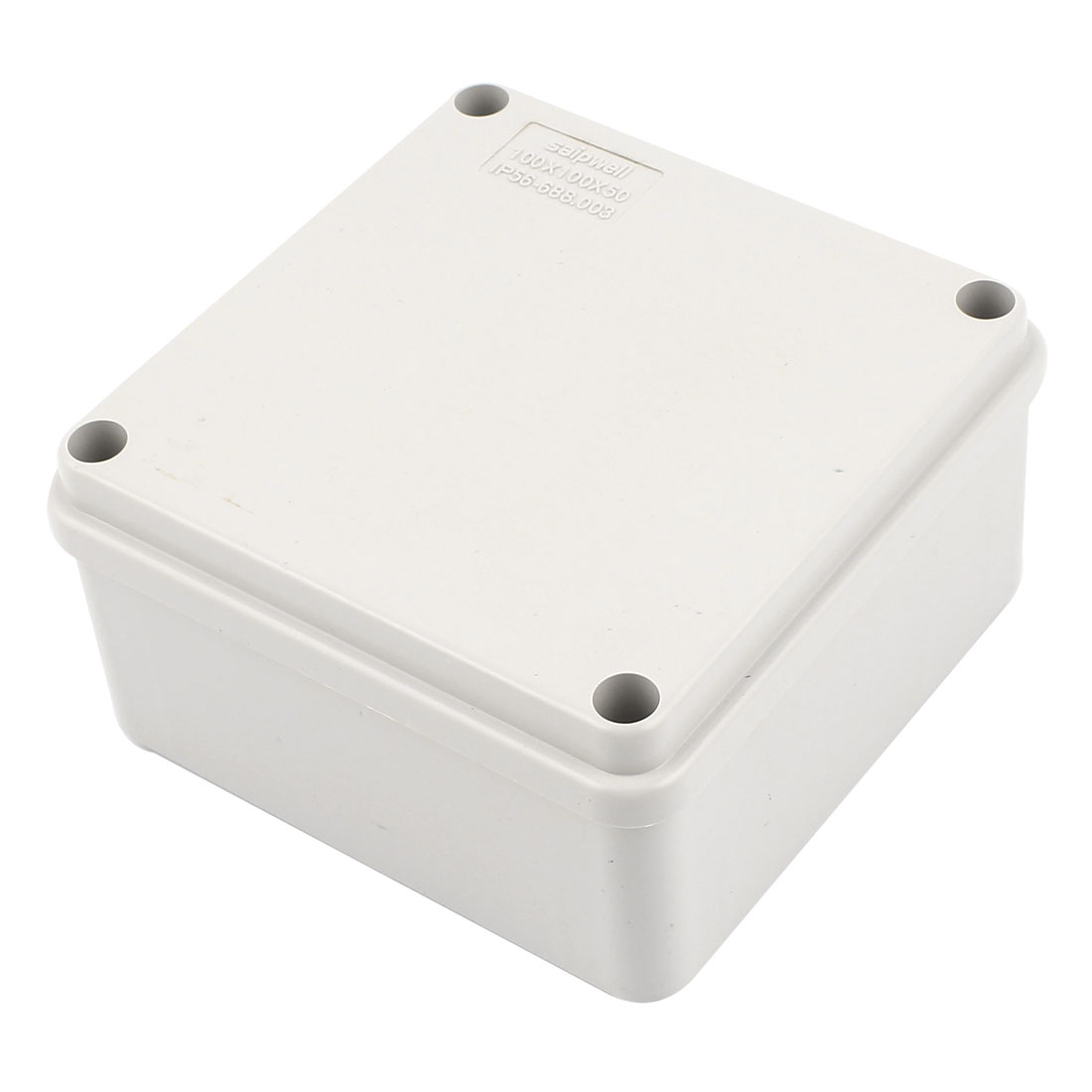 100mm x 100mm x 50mm Plastic Dustproof IP65 Sealed DIY Joint Electrical Junction Box