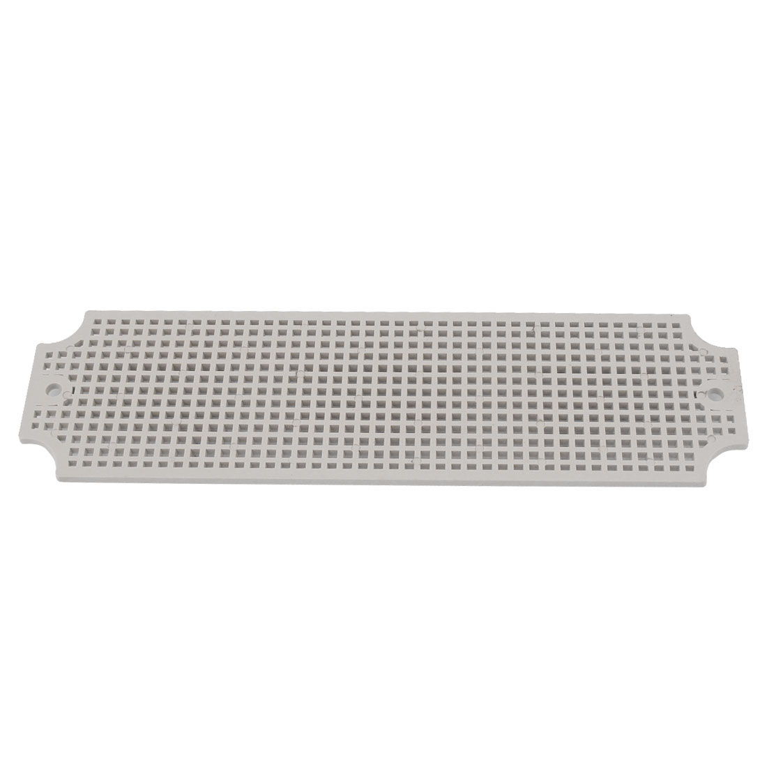 Gray Plastic Mesh Enclosure Mounting Plate for 250mm x 80mm Junction Box